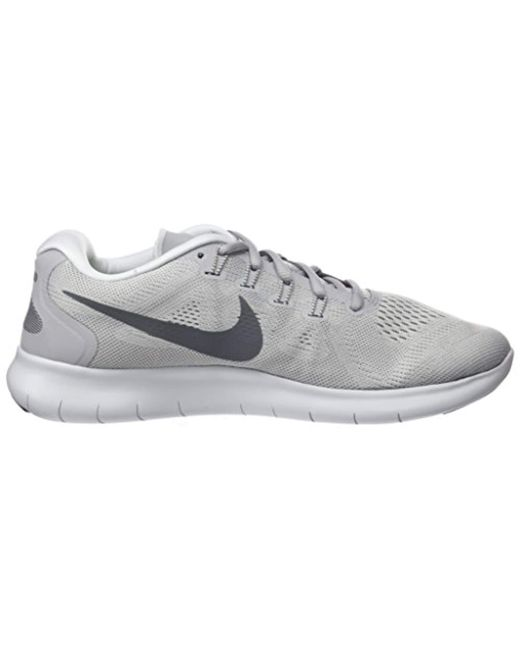 0d7a22c486e8c Nike Free Rn 2017 Running Shoes in Gray for Men - Save 20% - Lyst