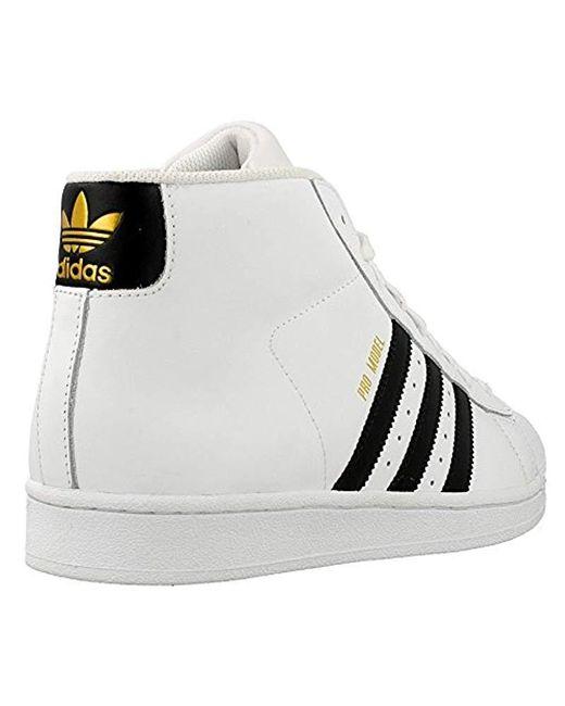 452d6e77a91b ... Adidas - White Pro Model