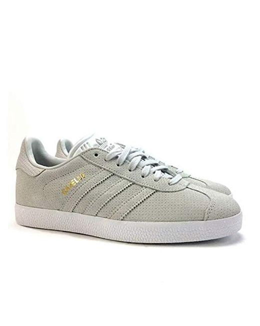 Adidas - Gray Gazelle Trainers for Men - Lyst ... e72ab56f0