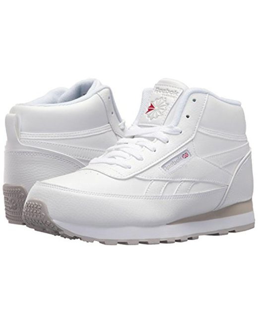 ... Reebok - White Cl Renaissance Mid Wde 4e Sneaker for Men - Lyst ...