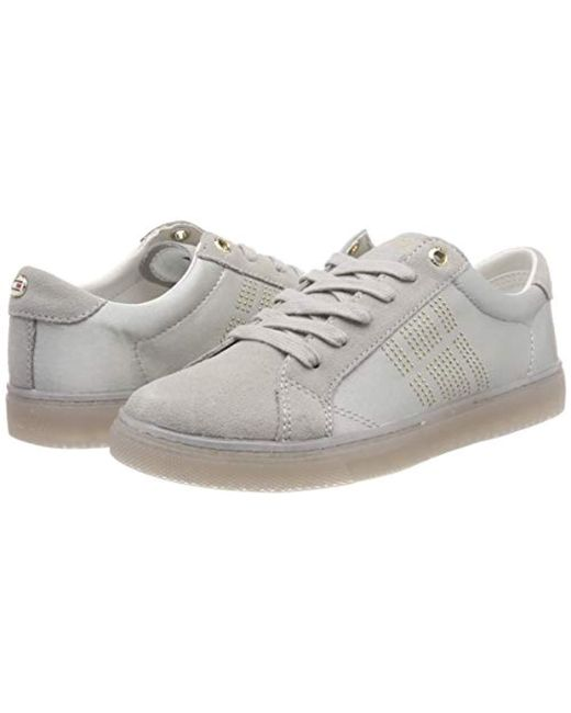 b43ddb55406df ... Tommy Hilfiger - Gray 's Sparkle Satin Essential Sneaker Low-top ...