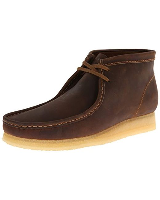 Clarks - Brown Wallabee Boot for Men - Lyst