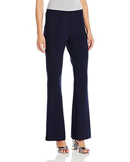 Trina Turk - Blue Jacoba Luxe Drape Suiting Pant - Lyst