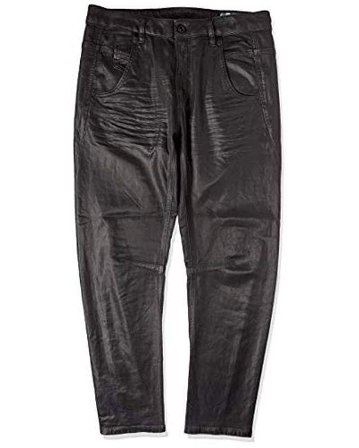 DIESEL - Black Fayza-ne Sweat Jeans Boyfriend - Lyst ... 0f2d883164d