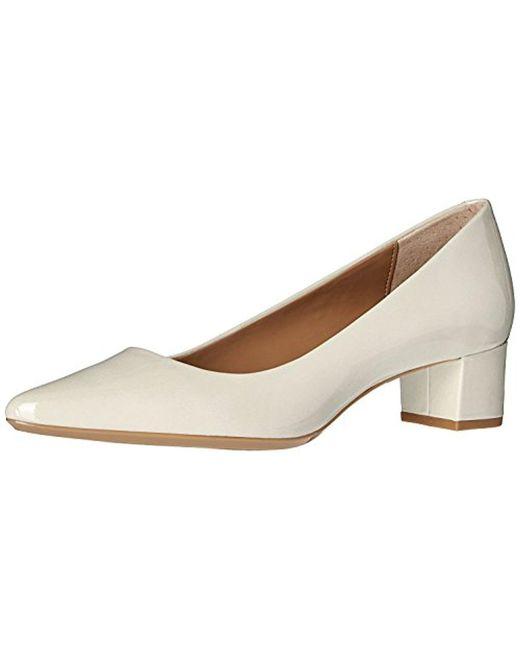CALVIN KLEIN 205W39NYC - White Genoveva Dress Pump - Lyst