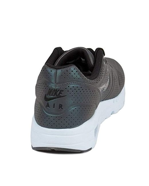Nike Air Max 1 Ultra Moire Qs Running Shoes in Black for Men