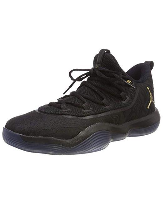 dbb490c3c2c Nike - Black Jordan Super.fly 2017 Low Basketball Shoes for Men - Lyst ...