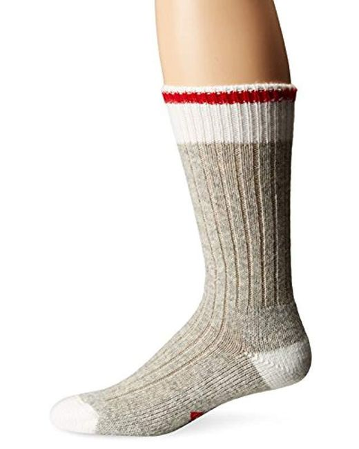 Wigwam - Red Hudson Bay Midweight Classic Fashion And Function Crew Sock for Men - Lyst