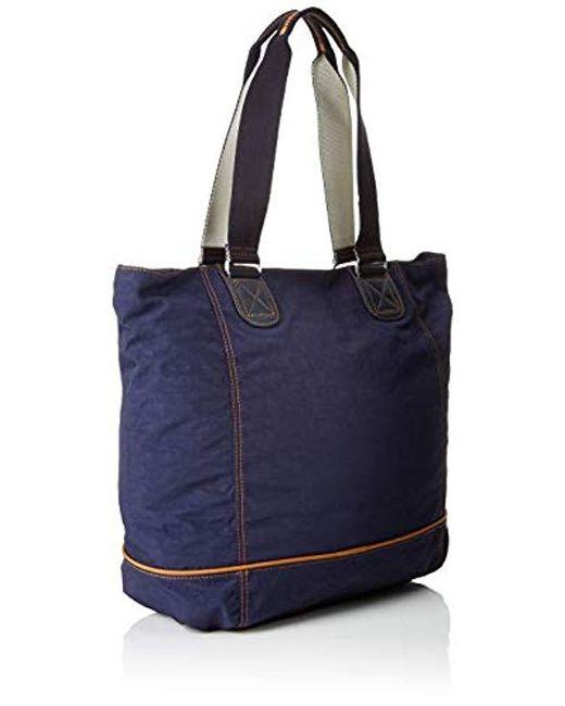 Kipling Shopper C in Blue - Save 10% - Lyst a1d8f3f327feb