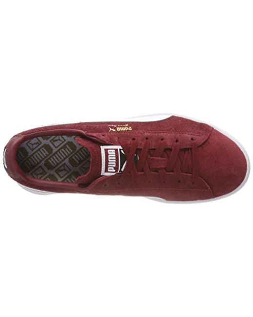 ebcd8e07a82 ... PUMA - Red Unisex Adults  Court Star Fs Low-top Sneakers for Men -