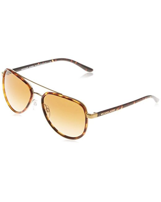52fa7a6049f79 Michael Kors - Brown Sunglasses - Lyst ...