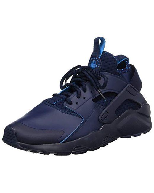 413ba69494a2 Nike - Blue  s Air Huarache Run Ultra Se Gymnastics Shoes White for Men ...