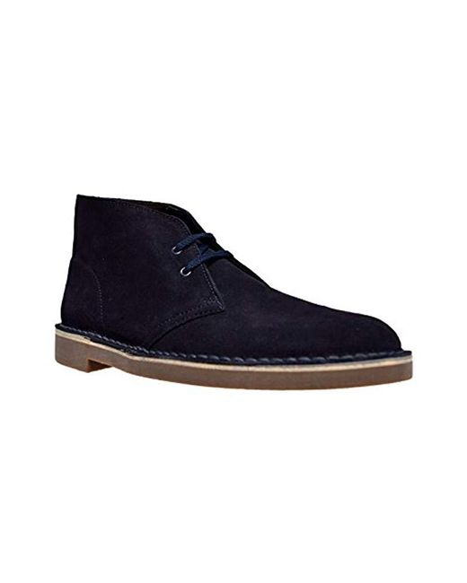 Clarks - Blue Bushacre 2 Chukka Boot for Men - Lyst