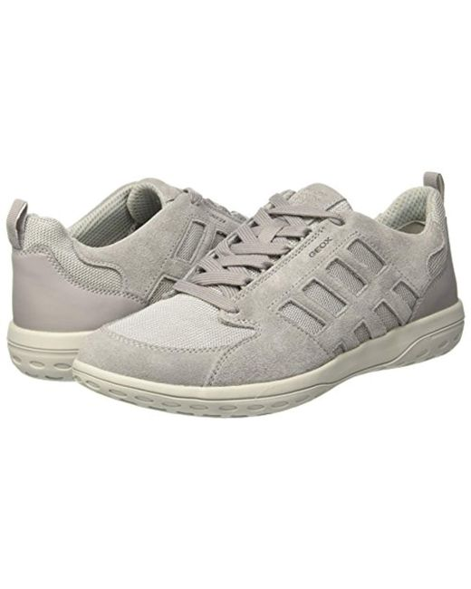 ... Geox - Gray U Mansel A Trainers for Men - Lyst ... dc66db82cbc