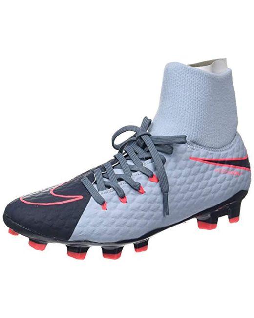471bd1f1baf Nike Hypervenom Phelon 3 Df Fg Football Boots in Blue for Men - Save ...