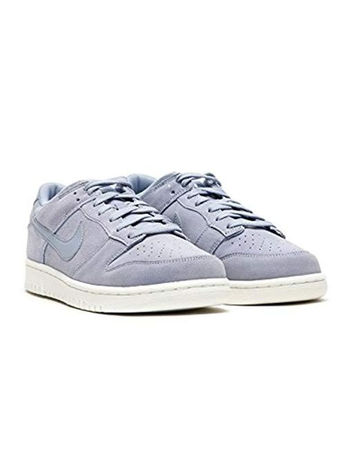 e0a25b157d651 ... Nike - Gray Dunk Low Gymnastics Shoes for Men - Lyst ...