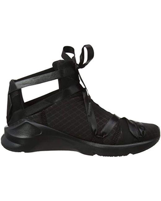 ... Lyst PUMA - Black Fierce Rope Satin Ep Wn s Cross Trainers ... 32faa2c4b