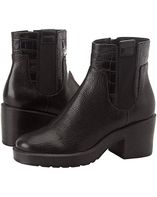 ... Geox - Black D Kenly Mid A Chelsea Boots - Lyst ... 571df41929a