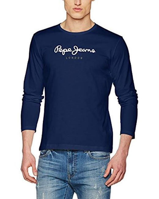 Pepe Jeans - Blue T-shirt for Men - Lyst