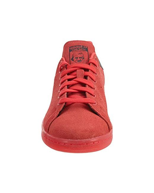 new style d8533 26fdb ... Adidas Originals - Red Stan Smith Vulc Running Shoe for Men - Lyst ...