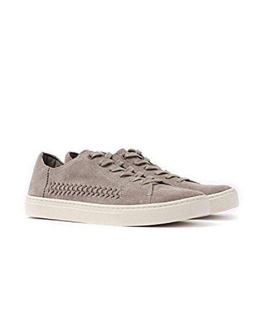 TOMS - Gray Lenox Suede Ankle-high Fashion Sneaker for Men - Lyst
