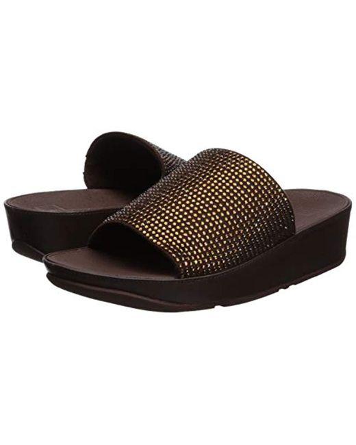 e3335ebca54 ... Fitflop - Multicolor Ginny Glitz Pool Slide Sandal
