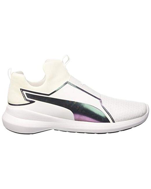 080213548bc6 ... PUMA -  s Rebel Mid Wns Swan Low-top Sneakers