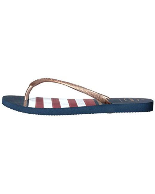 c295f3063 ... Havaianas - Blue Slim Flip Flop Sandals