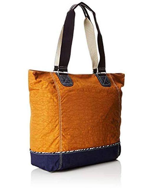 50930a87f4 Kipling Shopper C Tote in Brown - Save 45% - Lyst