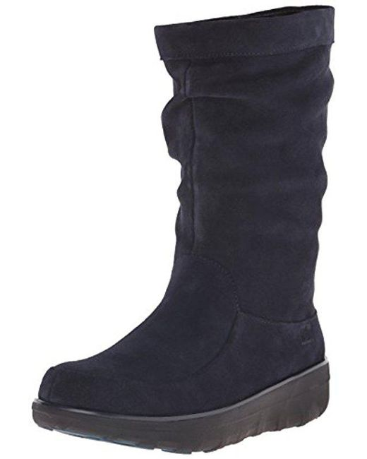 Fitflop - Blue Loaff™ Slouchy Knee Boot - Lyst