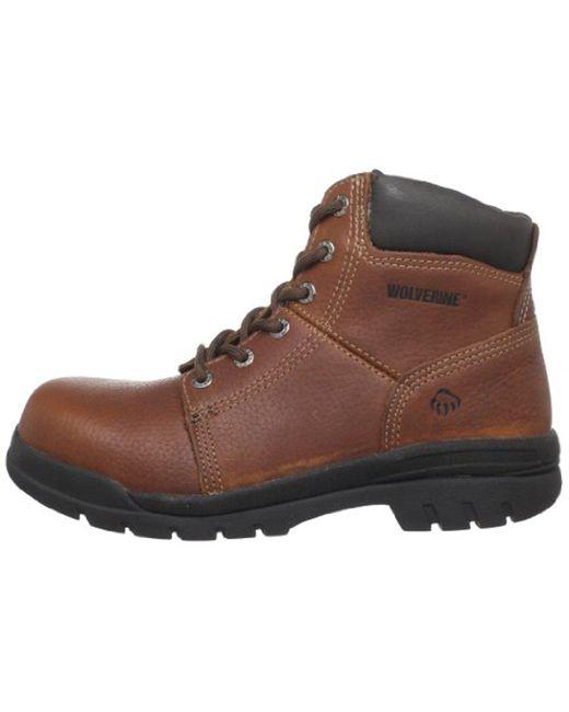8c8ba1f8e4a Men's Brown Marquette W04713 Steel Toe Steel Toe Work Boot
