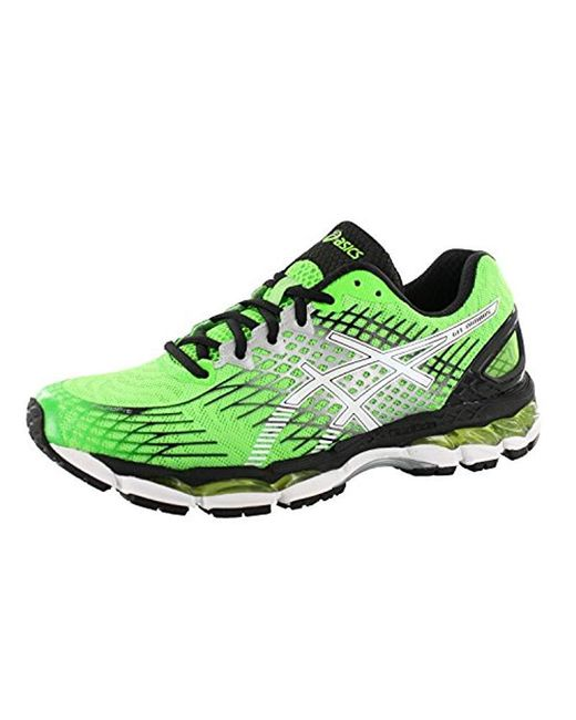 San Francisco a3e1c 069de Men's Green Gel Nimbus 17 Running Shoe