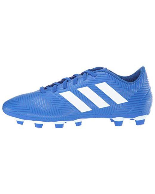 53426f3a8 ... Adidas - Blue Nemeziz 18.4 Firm Ground Soccer Shoe for Men - Lyst ...