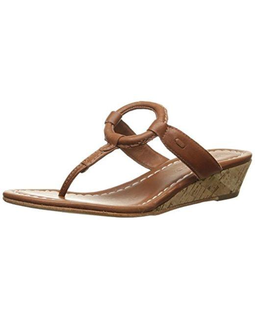 Bernardo - Brown Matrix Wd Wedge Sandal - Lyst