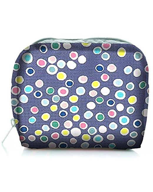 LeSportsac - Blue Classic Square Cosmetic Case - Lyst
