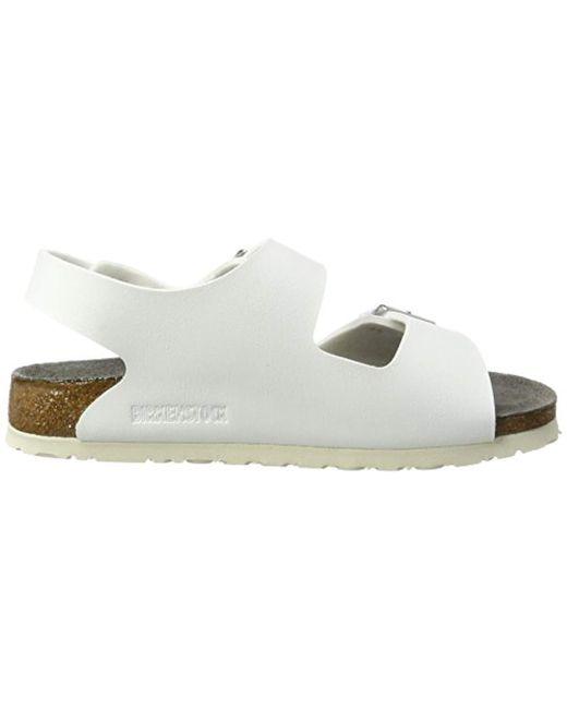 81e2ef42d02 ... Birkenstock - Unisex Adults  Milano Birko-flor Esd Ankle Strap Sandals