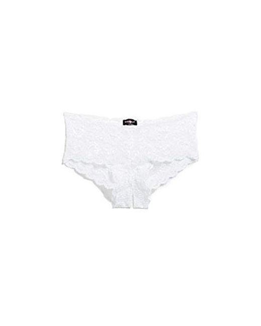 Cosabella - White Never Say Never Naughtie Low Rise Hotpants - Lyst