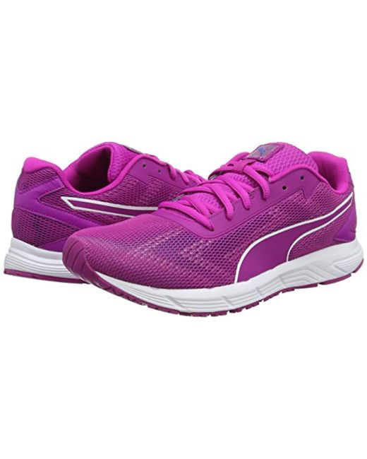 ... PUMA - Purple Engine Wns Running Shoes - Lyst ...