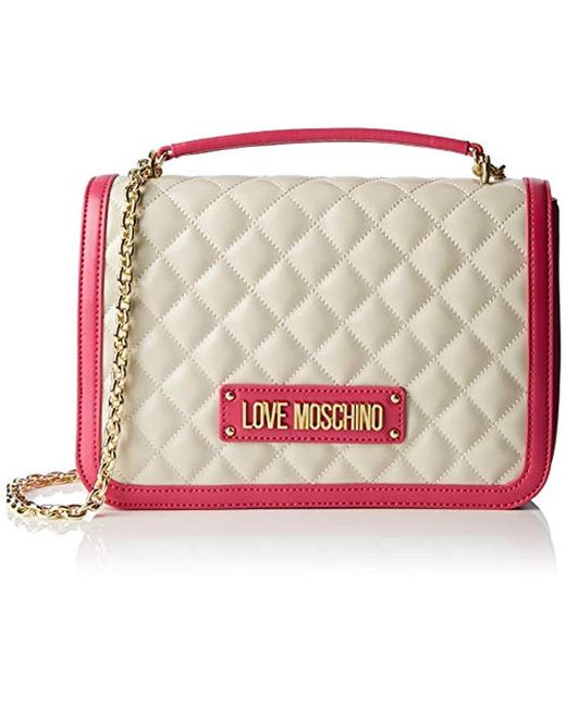 Love Moschino Multicolor Borsa Quilted Nappa Pu Top-handle Bag