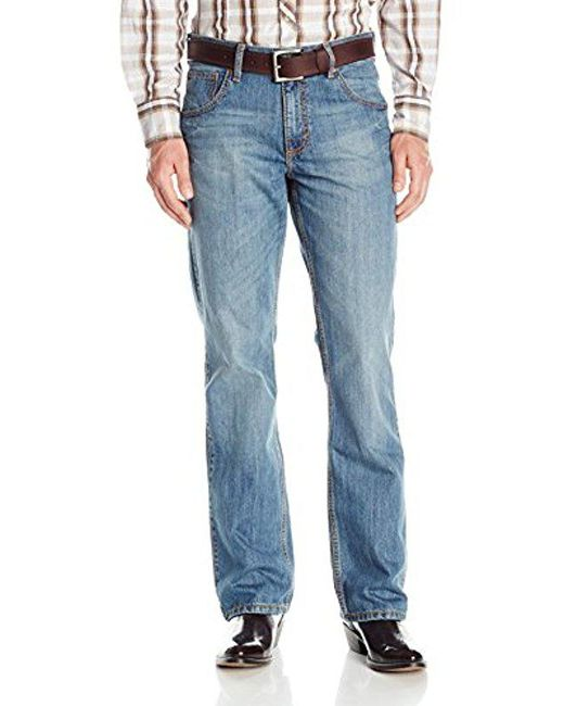 Wrangler - Blue Retro Relaxed Fit Boot Cut Jean for Men - Lyst