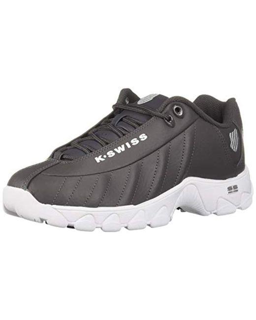 K-swiss - Gray St329 Cmf Training Shoe for Men - Lyst ... b40cc6ef3
