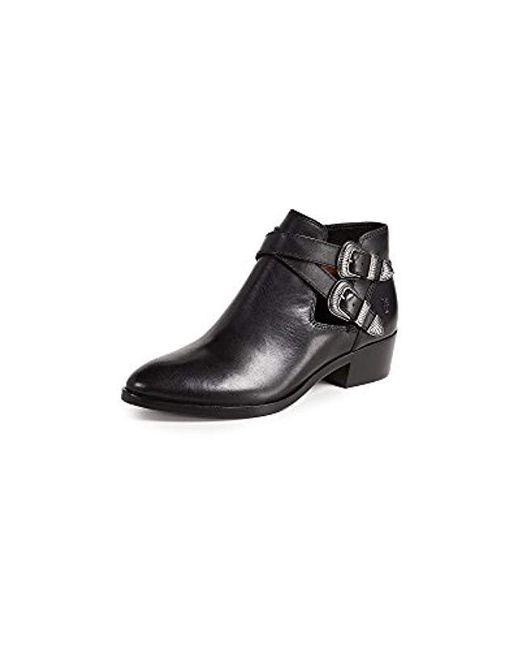 Frye - Black Ray Western Shootie Ankle Boot - Lyst