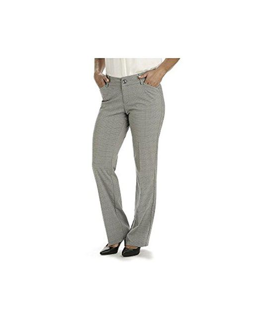 Lee Jeans - Gray Modern Series Curvy Fit Maxwell Trouser - Lyst