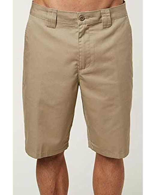 855c0dea66 O'neill Sportswear - Natural 22 Inch Outseam Classic Walk Short for Men ...