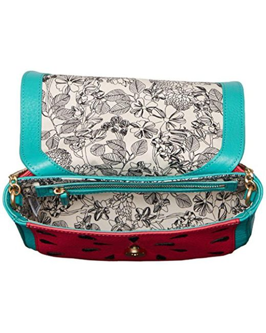 ... Vera Bradley - Multicolor Mini Saddle Bag c5d08a345d1c1