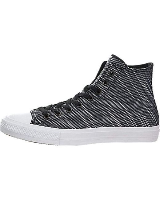 d45e9b925b7 Converse - Black Unisex Adults  Chuck Taylor All Star Ii Hi-top Sneakers for  ...