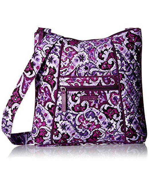 Vera Bradley - Purple Hipster, Signature Cotton - Lyst