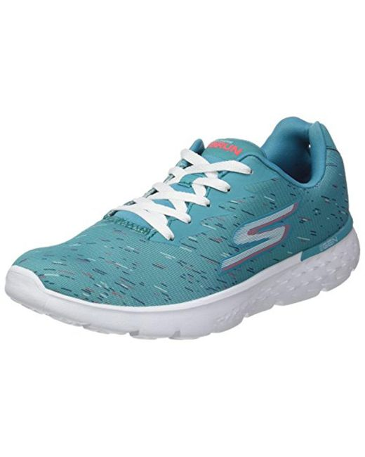 Skechers - Blue Performance Go Run 400 Obstruct - Lyst