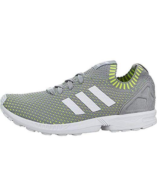 ec9402d0b76df Lyst - adidas Originals Zx Flux Sneaker in Gray for Men - Save 60%