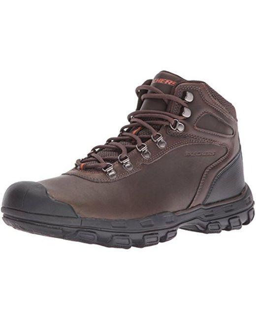 Skechers - Brown Usa Primero Chukka Boot for Men - Lyst